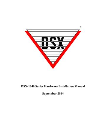 DSX-1040 Series Hardware Installation Manual September | Manualzz | Dsx 1048 Wiring Diagram |  | Manualzz
