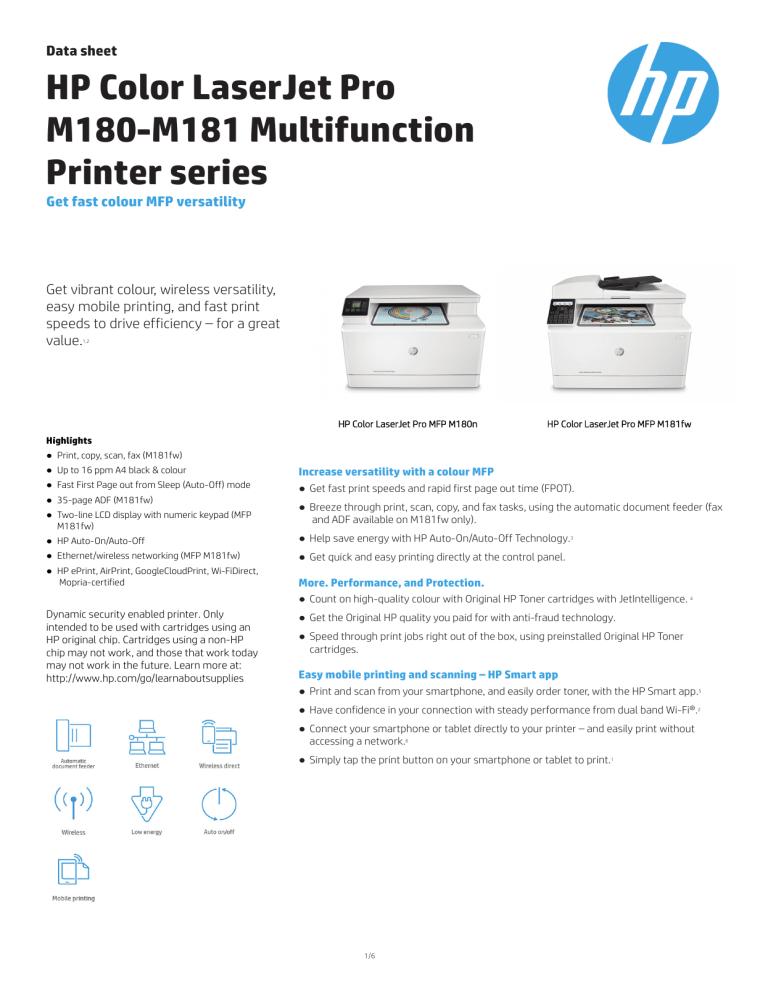 Toner Cartridge FOR HP Colour LaserJet Pro MFP M180 M180n M181 M181fw Printer