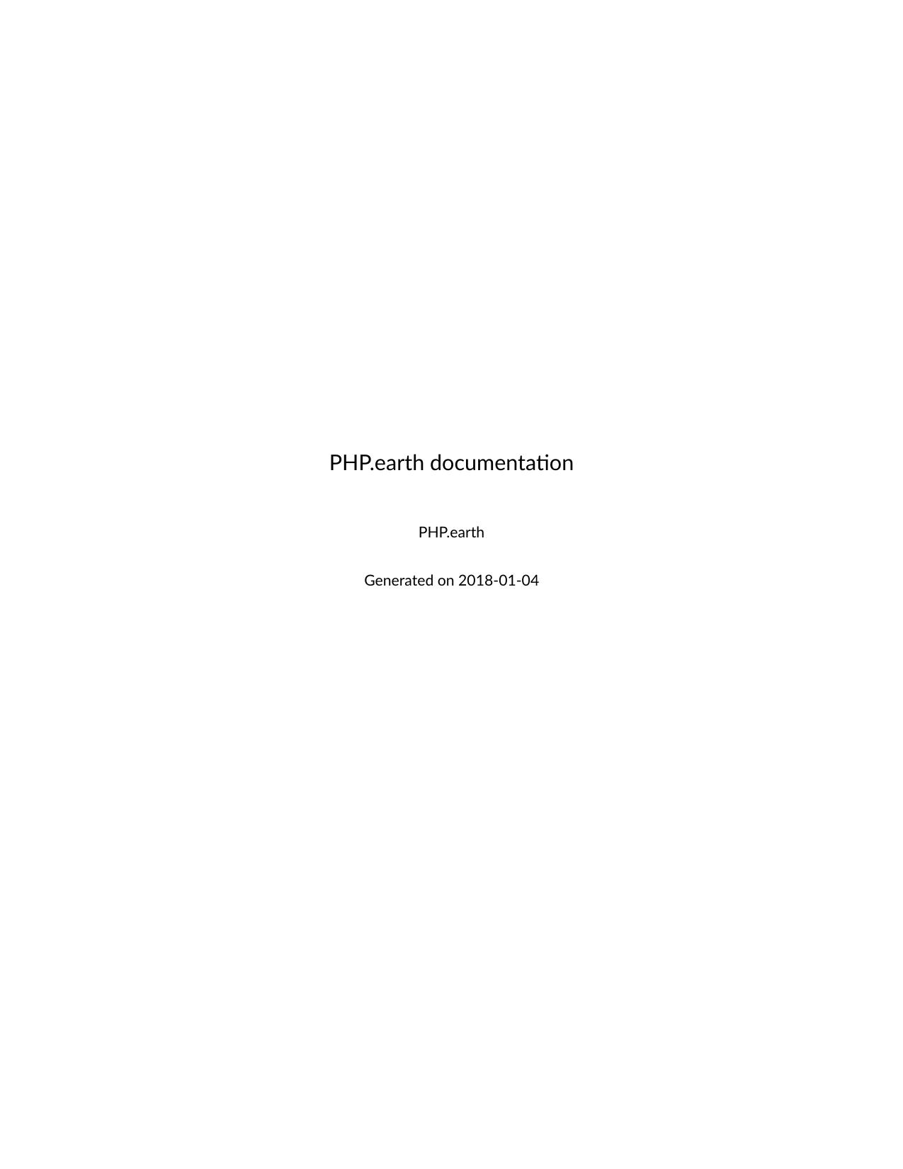 PHP earth documentation | manualzz com