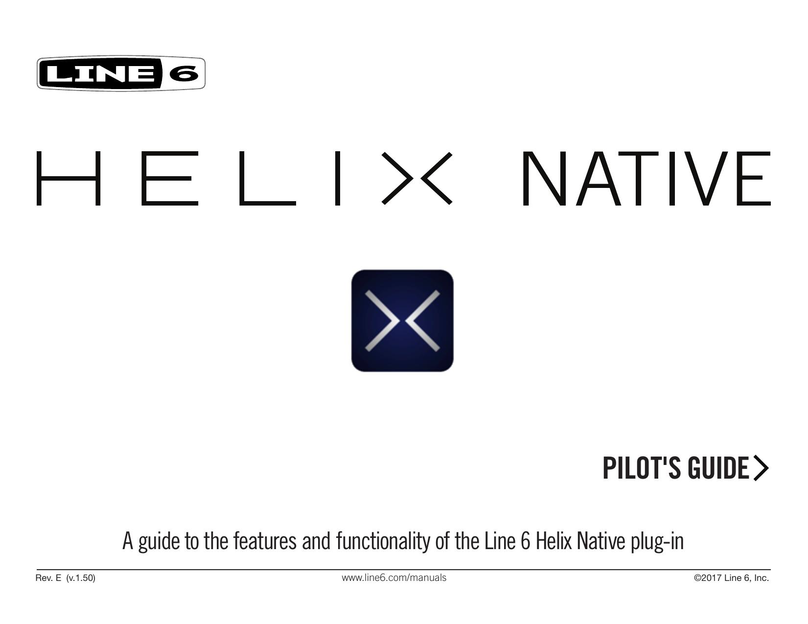 Line 6 Helix Native Pilot' | manualzz com