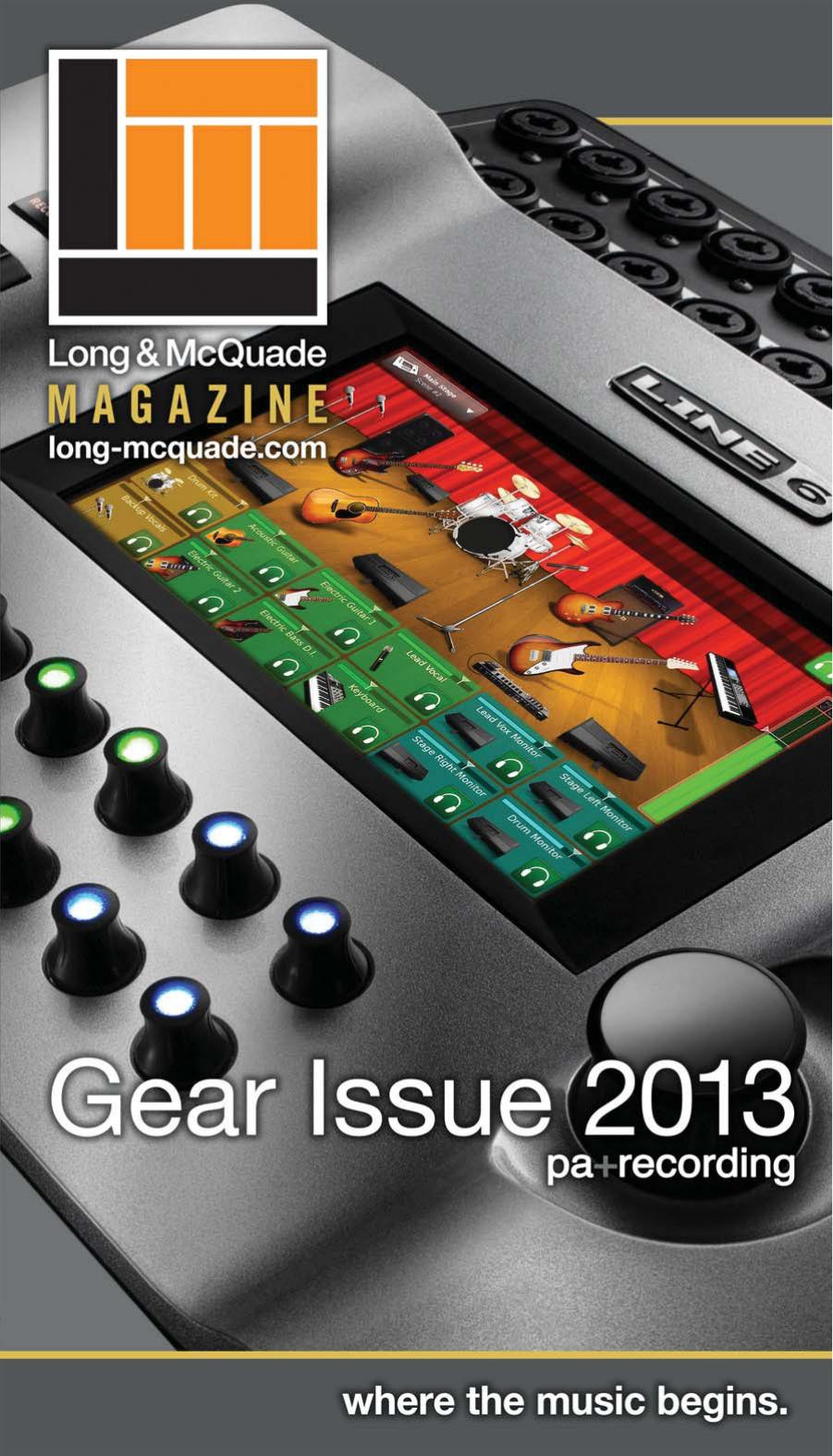 Gear Issue 2013 - PA + Recording | manualzz com