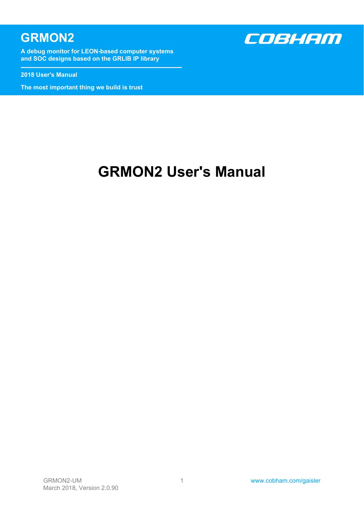GRMON2 User' | manualzz com