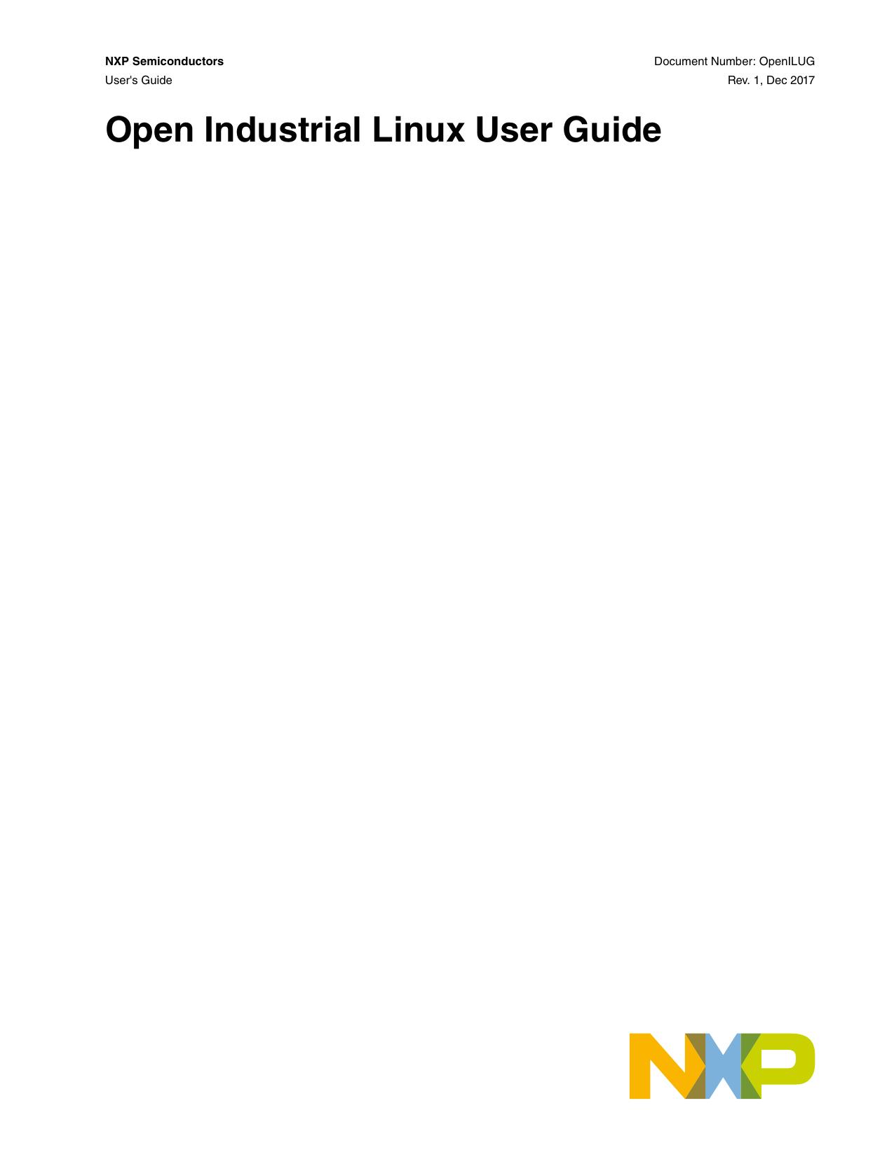Open Industrial Linux User Guide | manualzz com