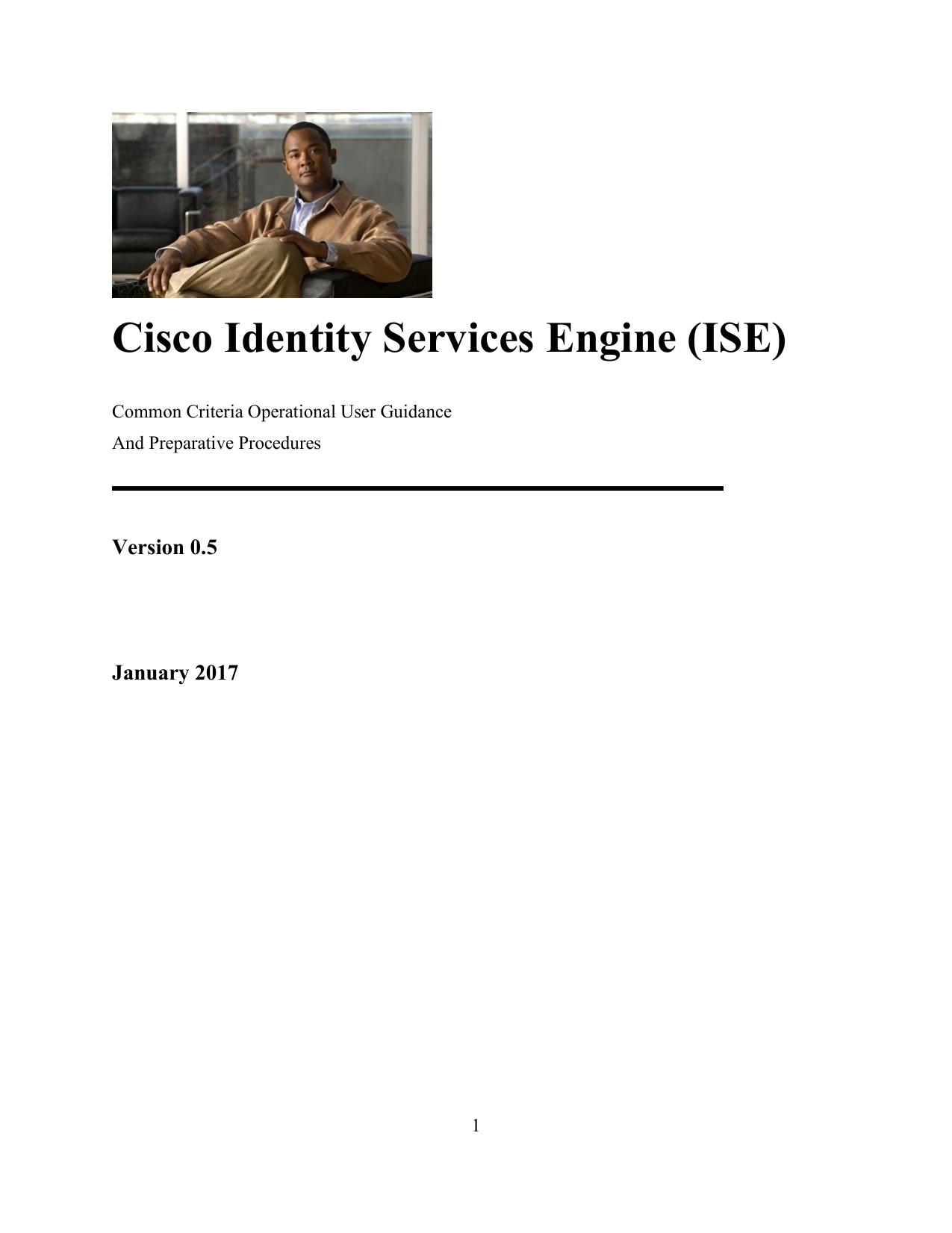 Cisco Identity Services Engine (ISE) | manualzz com