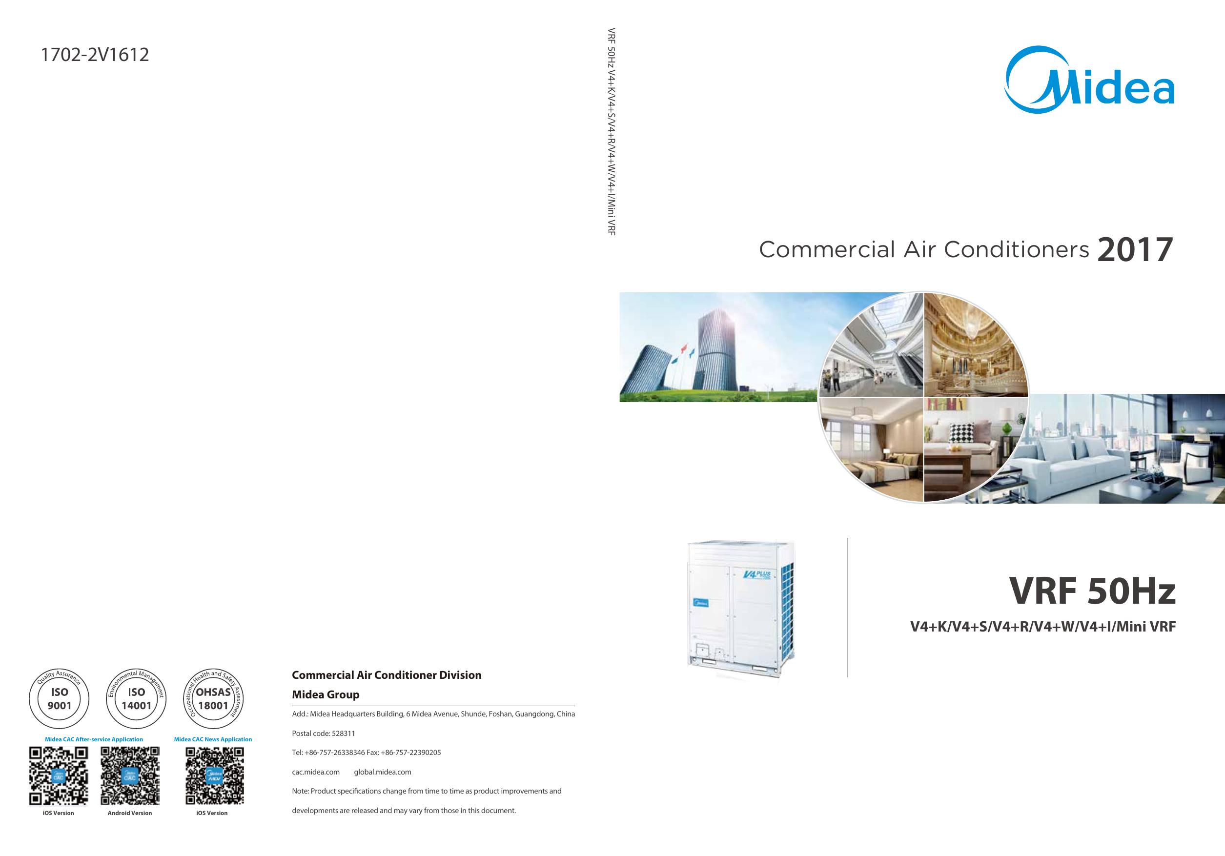 VRF 50Hz | manualzz com