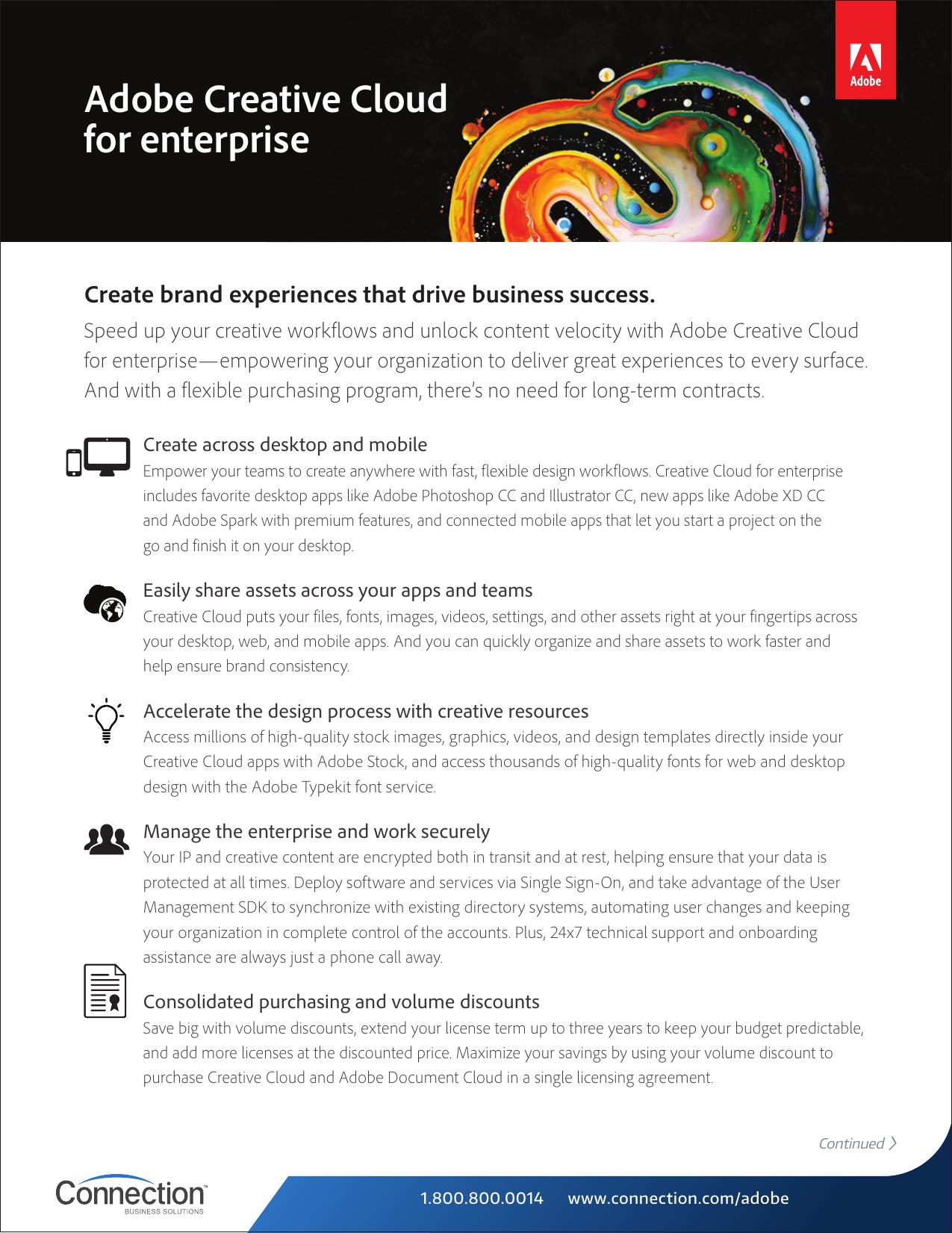 Adobe Creative Cloud for enterprise   manualzz com