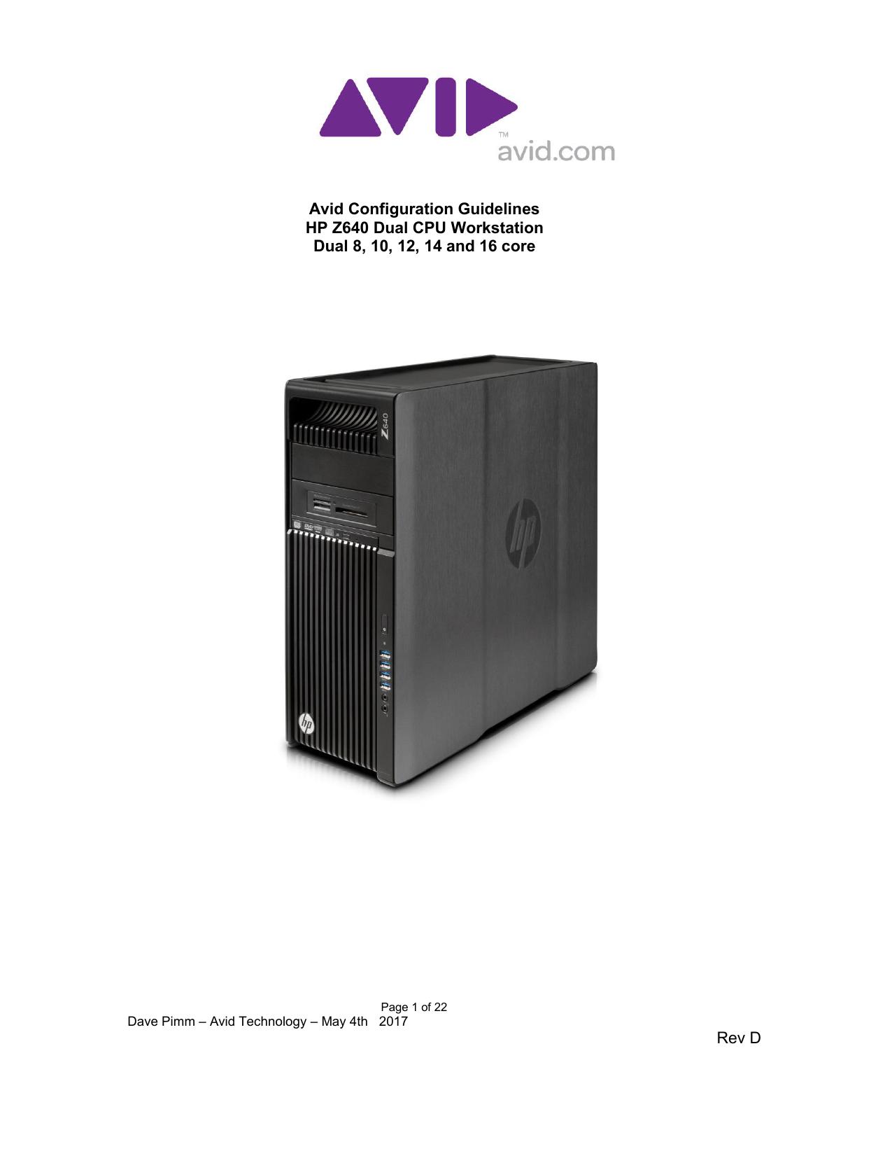 HP Z640   manualzz com