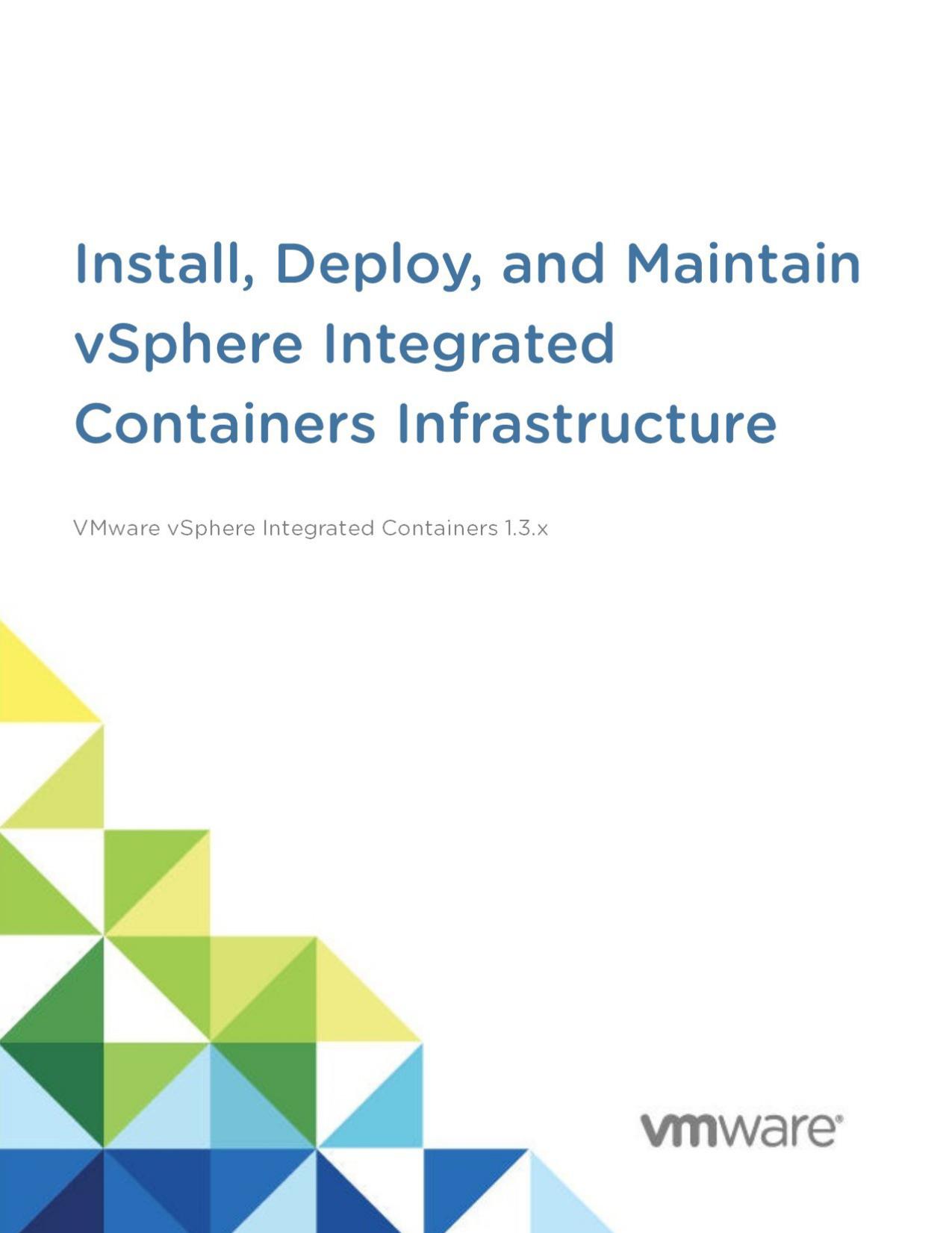 Install, Deploy, and Maintain the vSphere | manualzz com