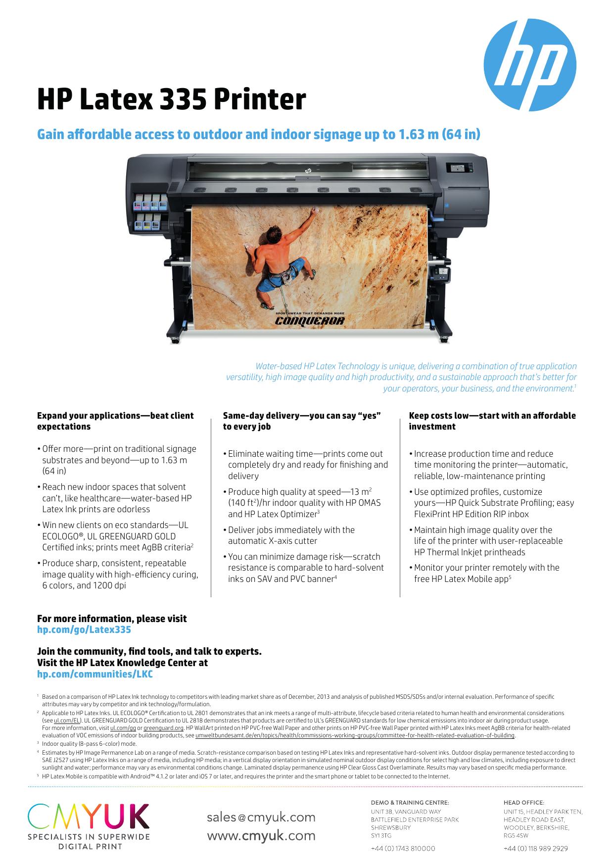 HP Latex 335 Printer | manualzz com
