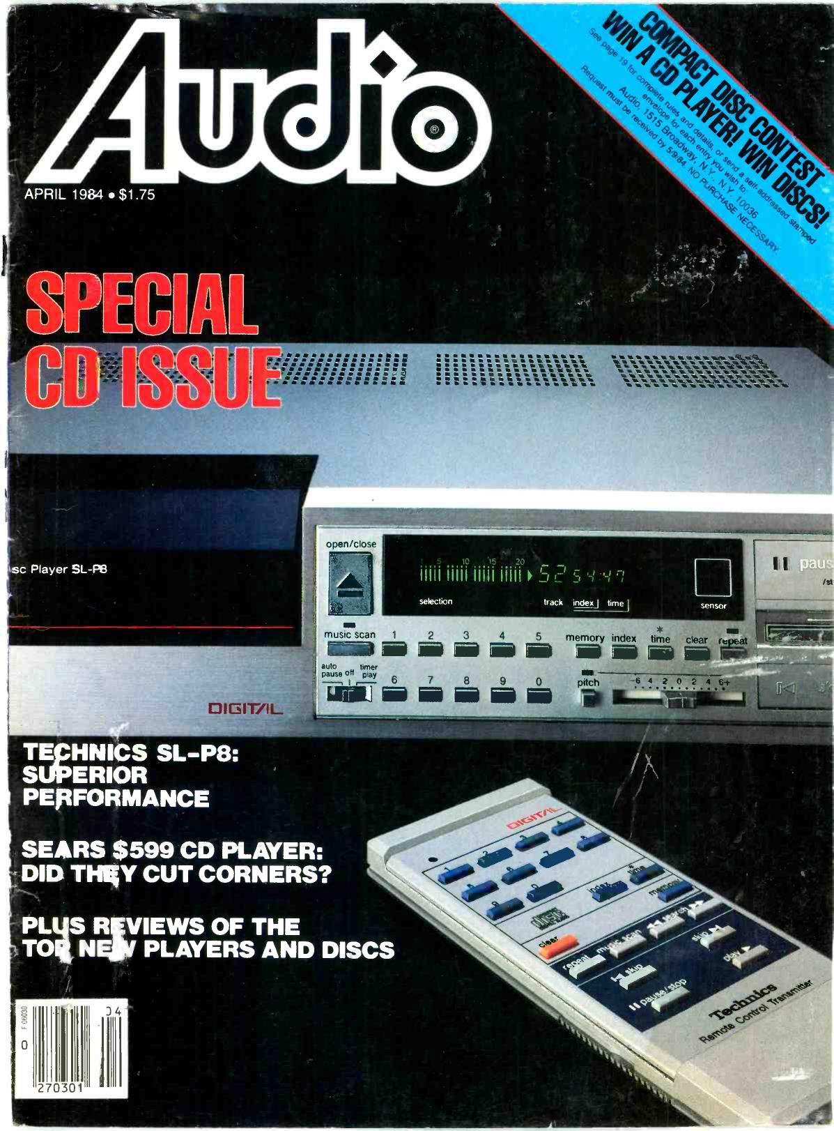 Panasonic SL-P3500 Black Home Audio Video Digital Single Compact Disc CD Player