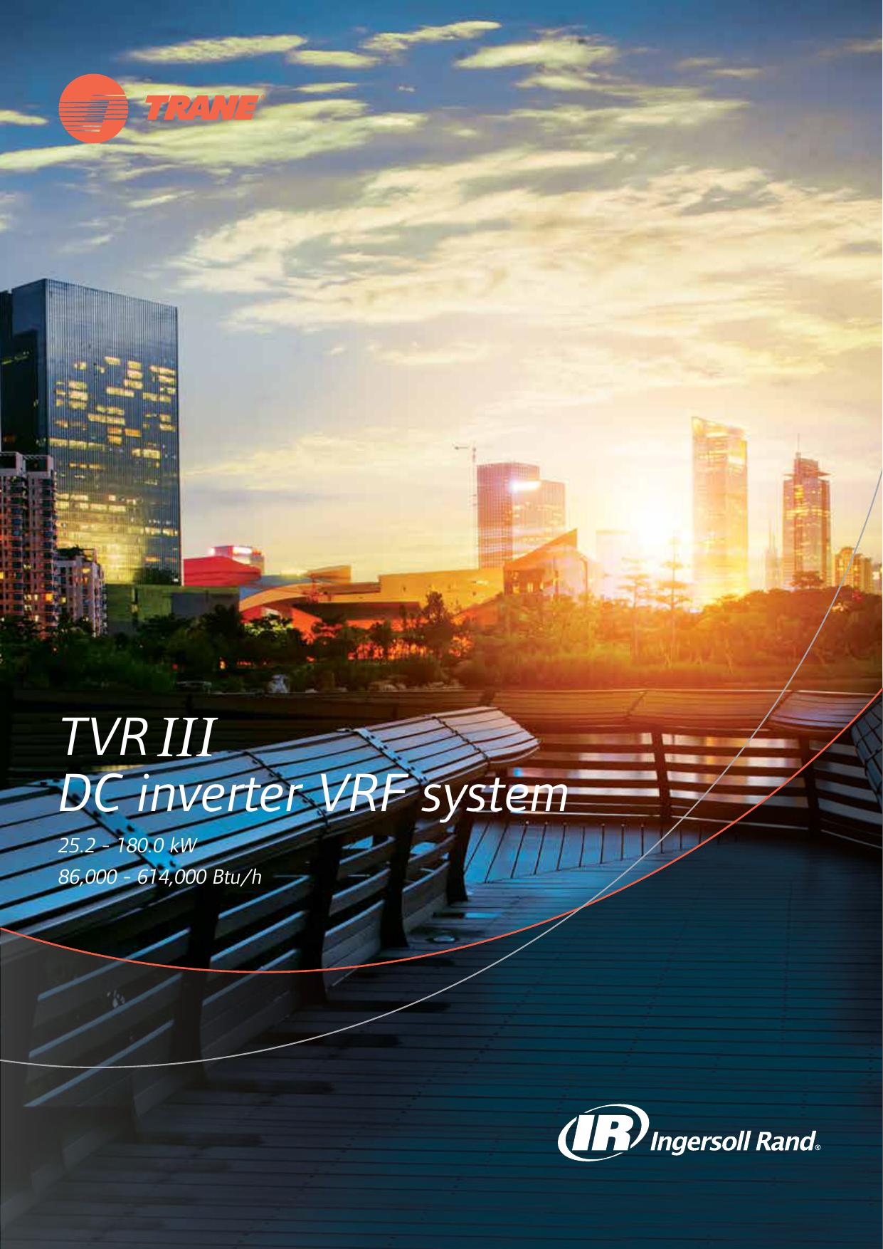TVRIII DC inverter VRF system | manualzz com