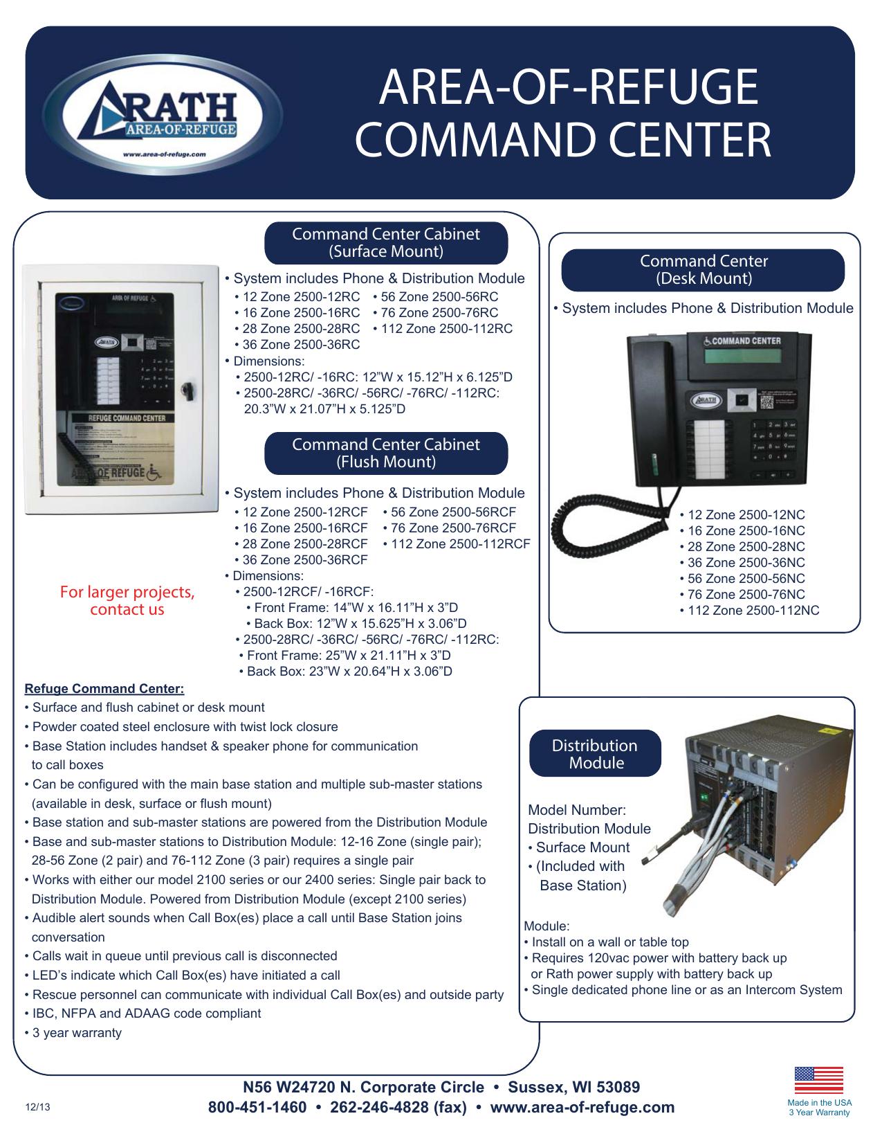area-of-refuge command center   manualzz com