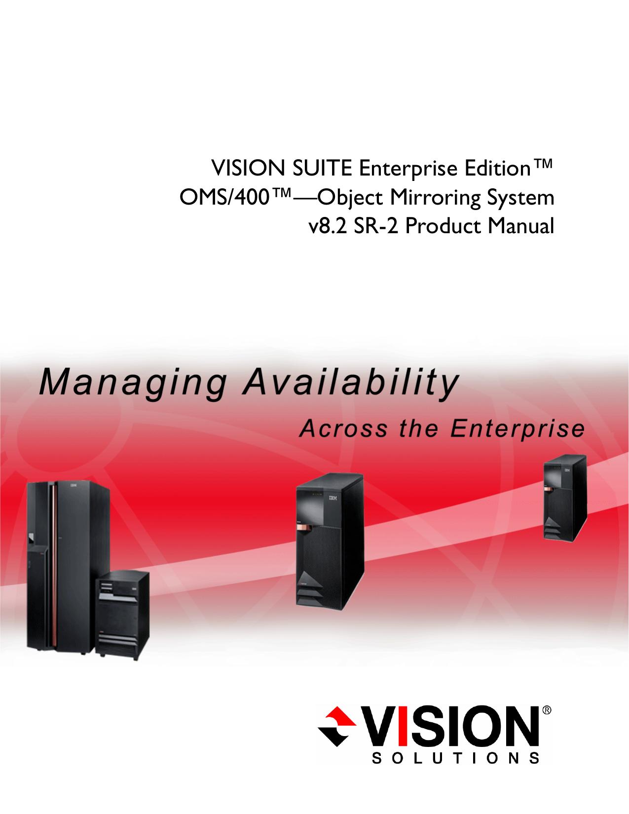 Product Manual VSEE OMS400 v8 2 SR2 Rev B   manualzz com