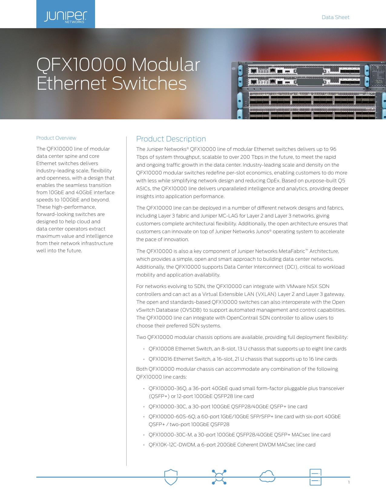 QFX10000 Modular Ethernet Switches | manualzz com