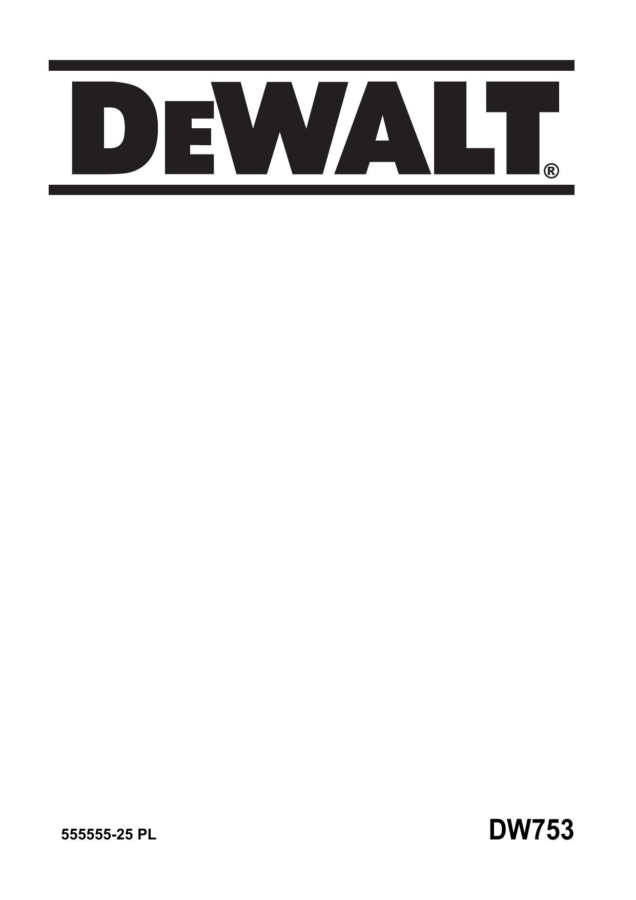 Miraculous Dewalt Dw753 Bench Grinder Type 2 Instruction Manual Inzonedesignstudio Interior Chair Design Inzonedesignstudiocom