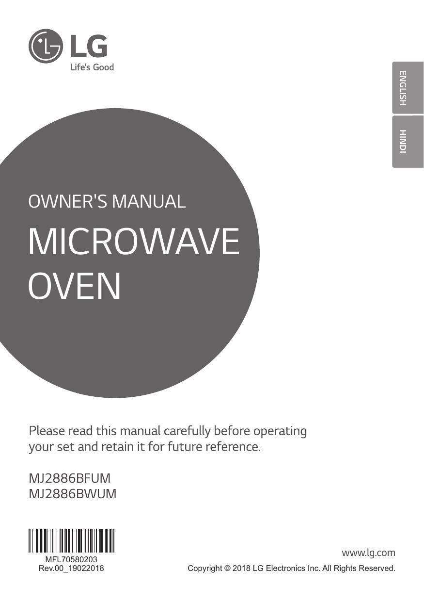 LG MJ2886BWUM Owner's Manual   manualzz com