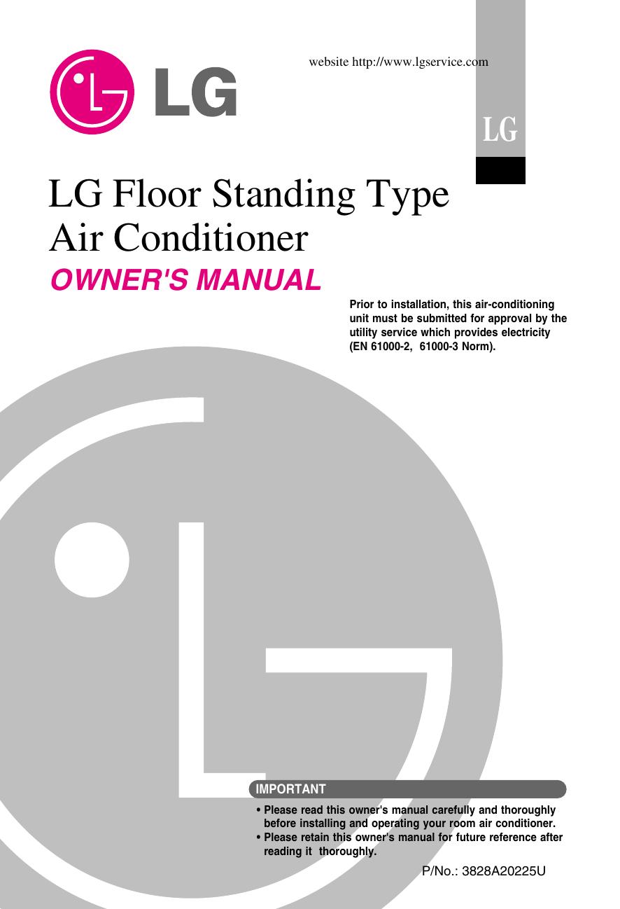 LG LPUC306KA0 ANWBDXB Owner's manual | manualzz com