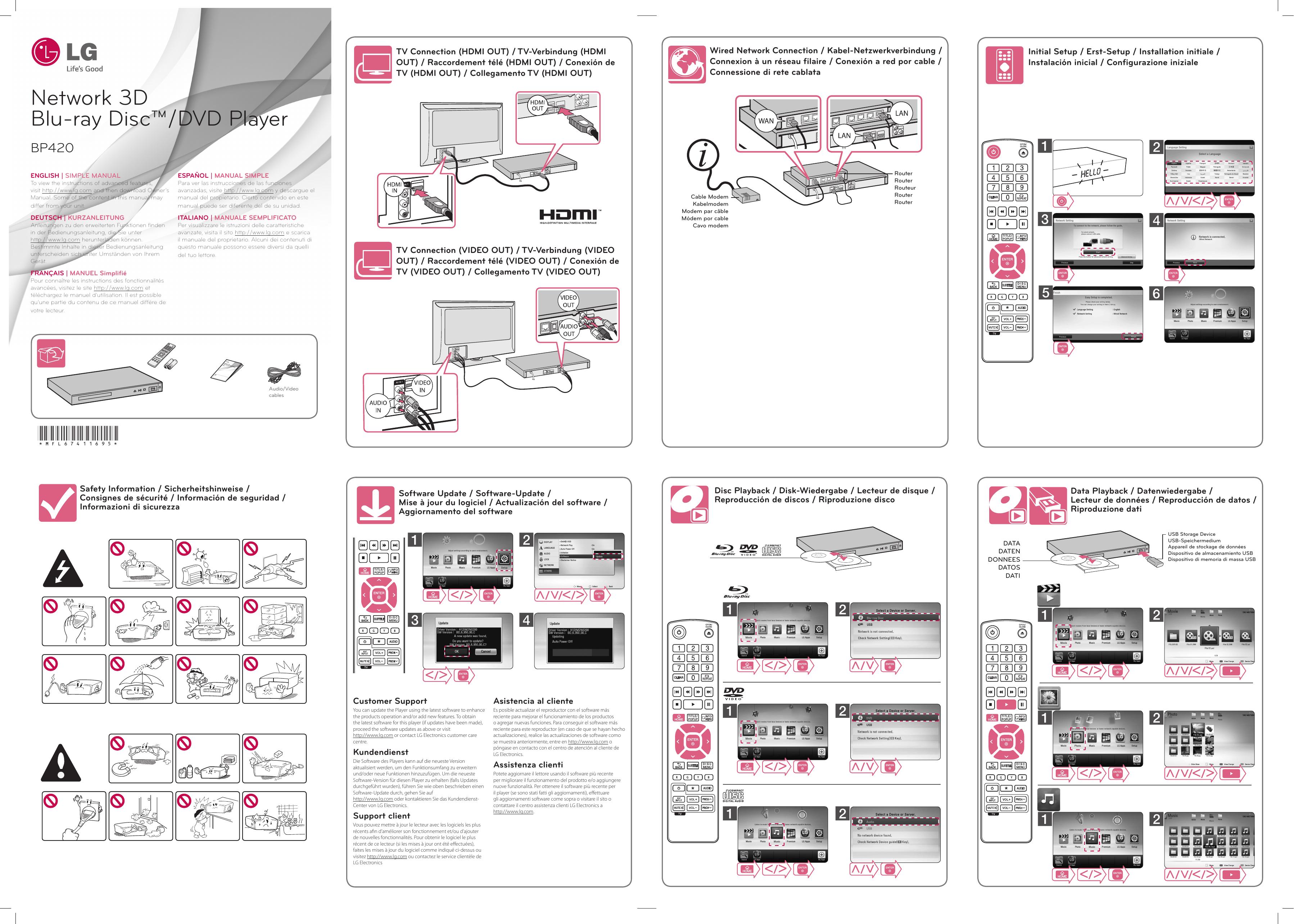 Centro Assistenza Tv Lg.Lg Bp420 User Guide Manualzz Com
