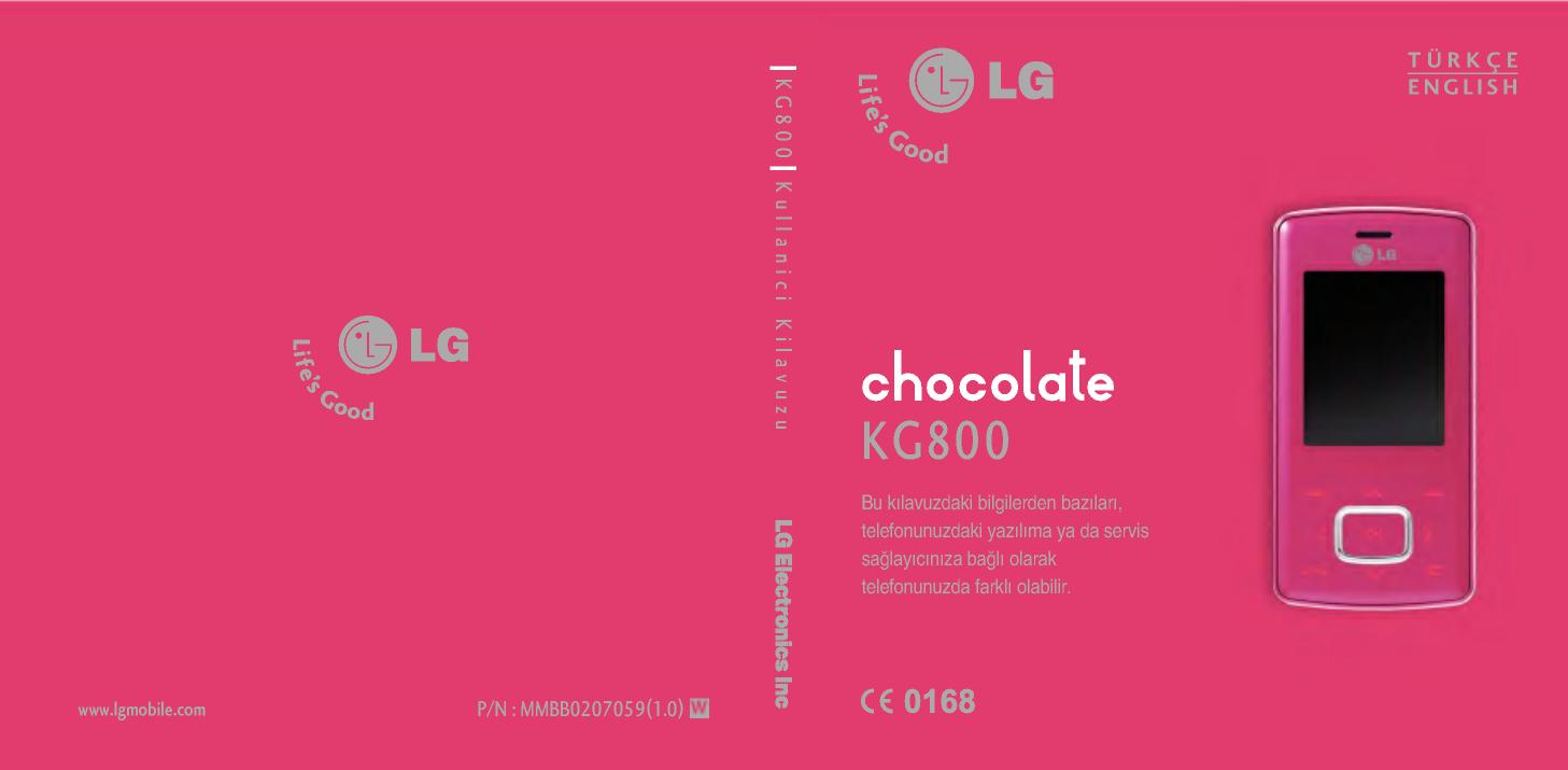 LG KG800 Owner's manual | Manualzz