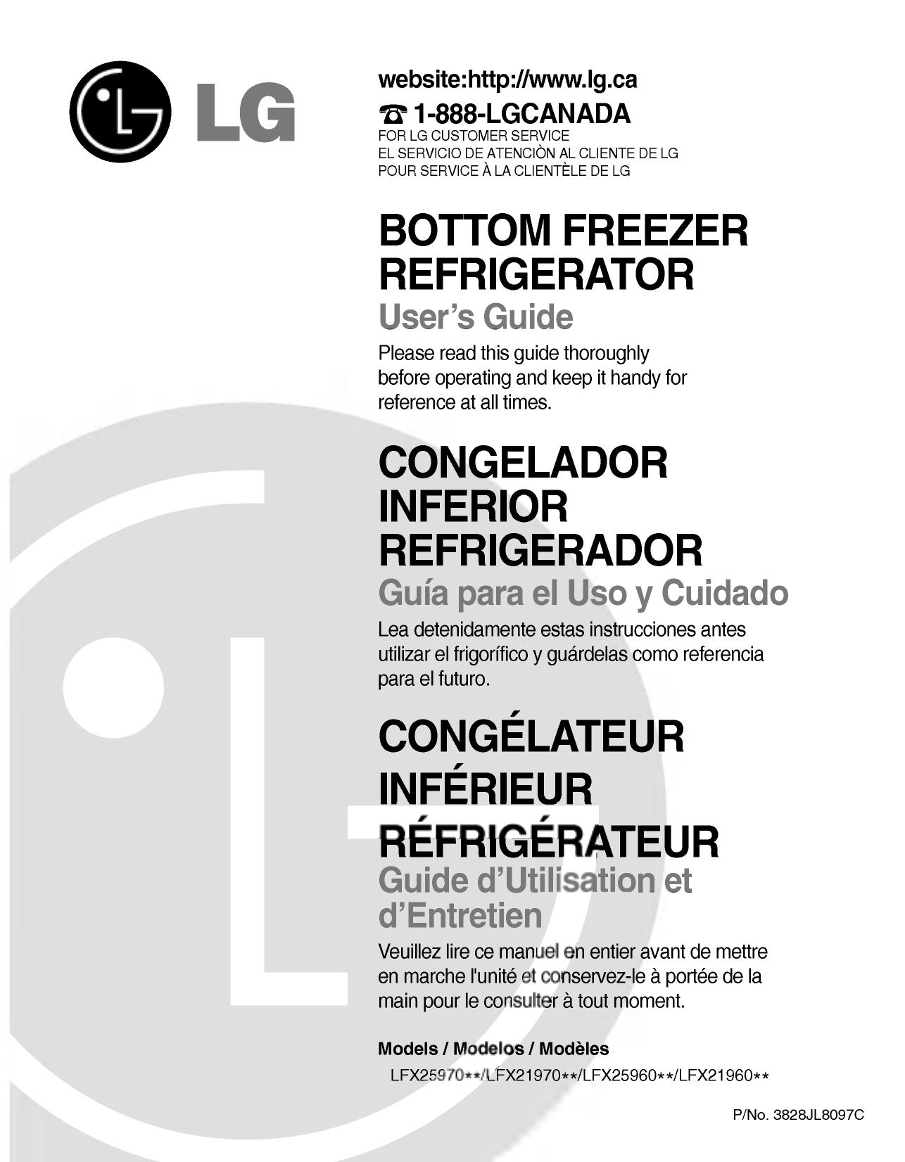 LG LFX25960ST Owner's Manual | Manualzzmanualzz