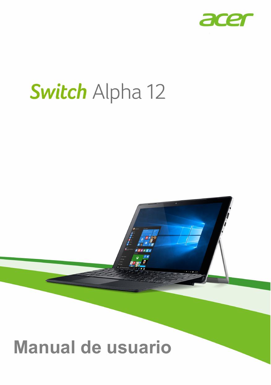 Acer SA5-271 Guía del usuario W10 | manualzz.com
