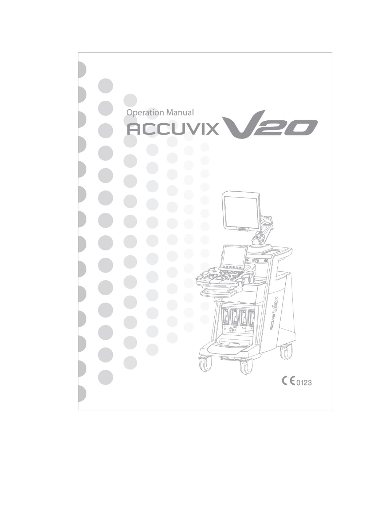 Samsung ACCUVIX V20 User Manual | manualzz com