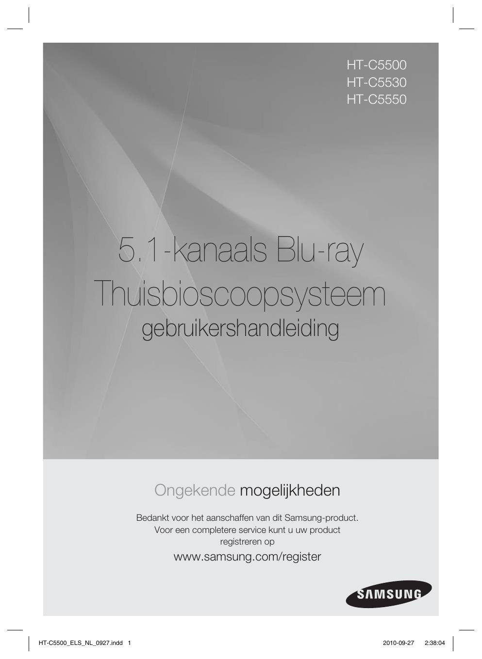 Samsung HT-C5530 Handleiding