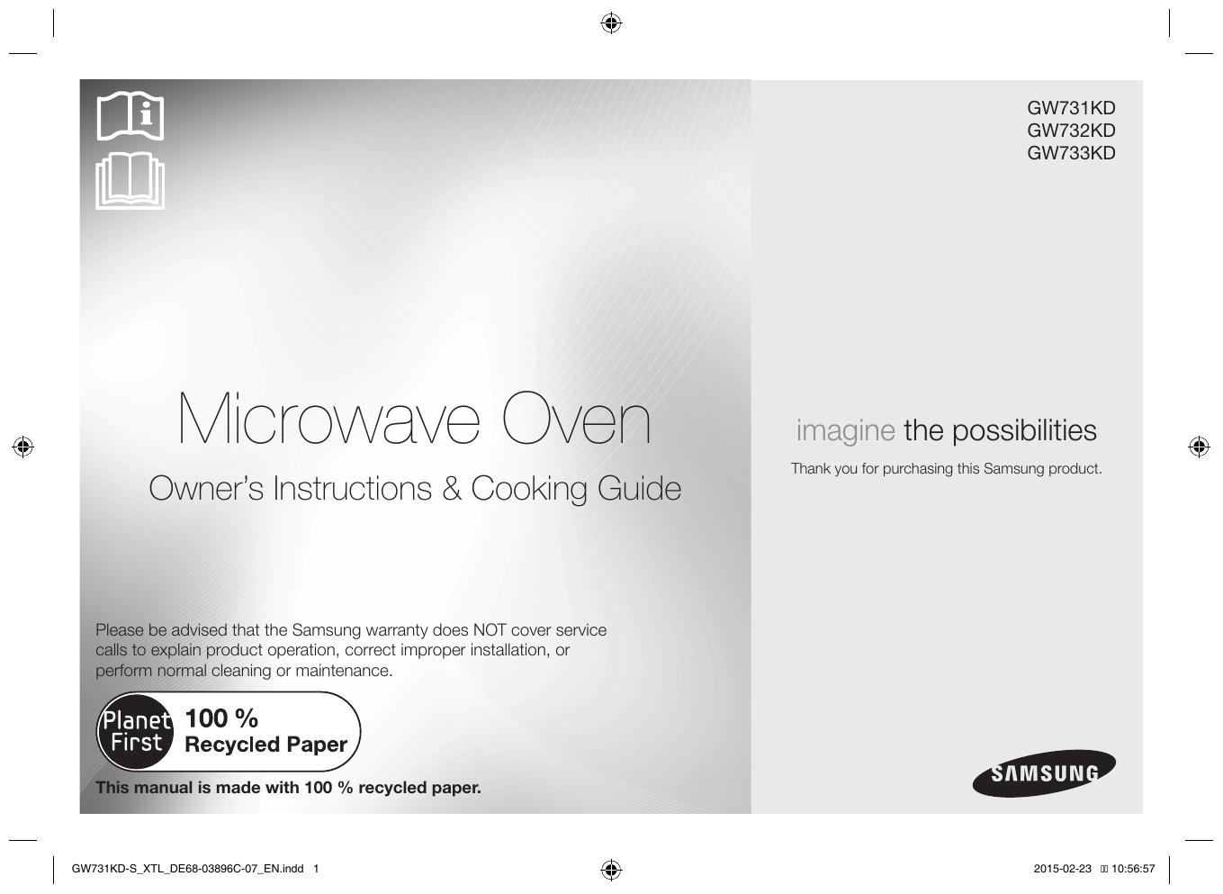 Samsung GW731KD-S User Manual | manualzz com
