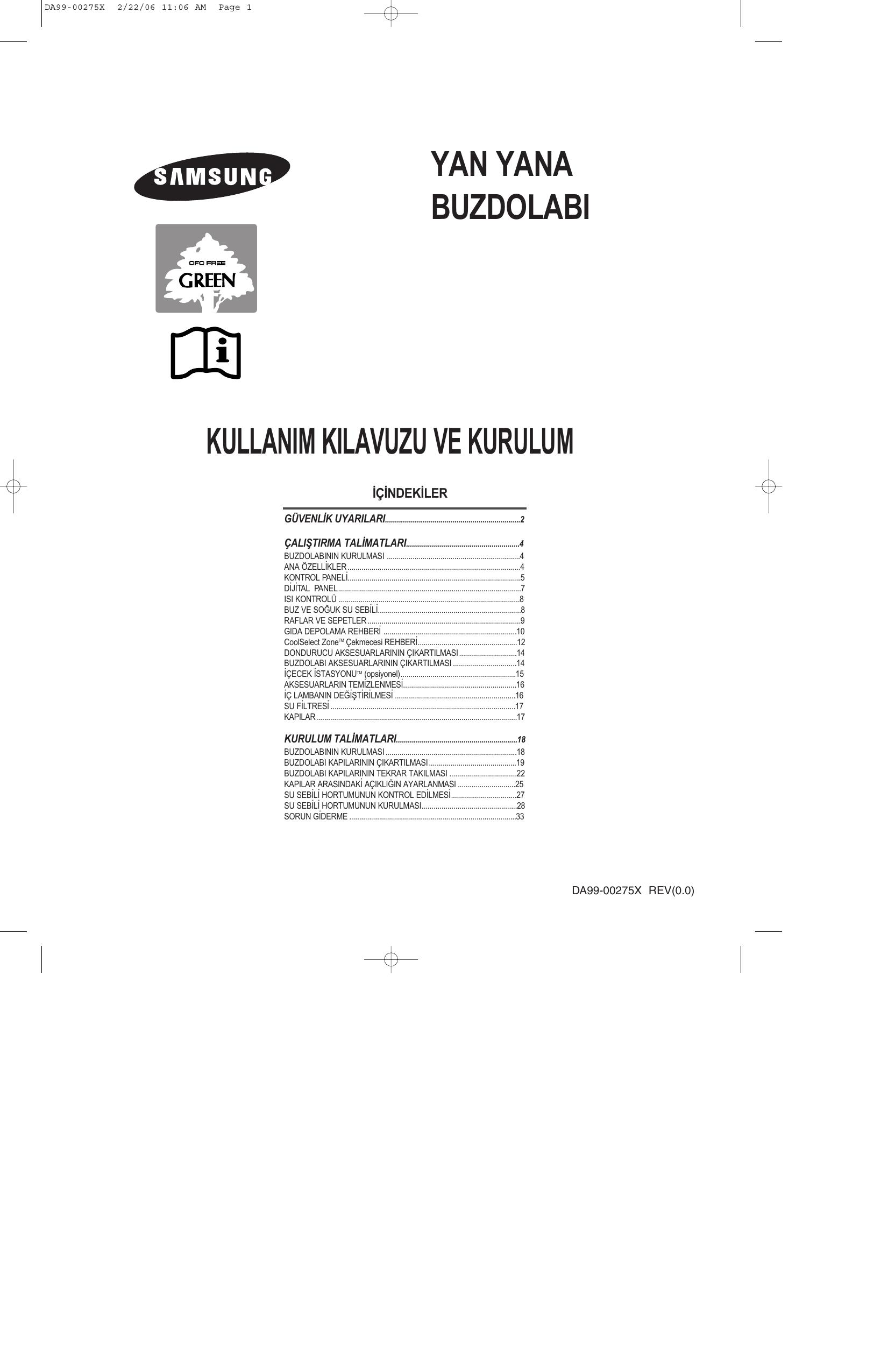 Samsung Rs27kgrs Benutzerhandbuch Manualzz