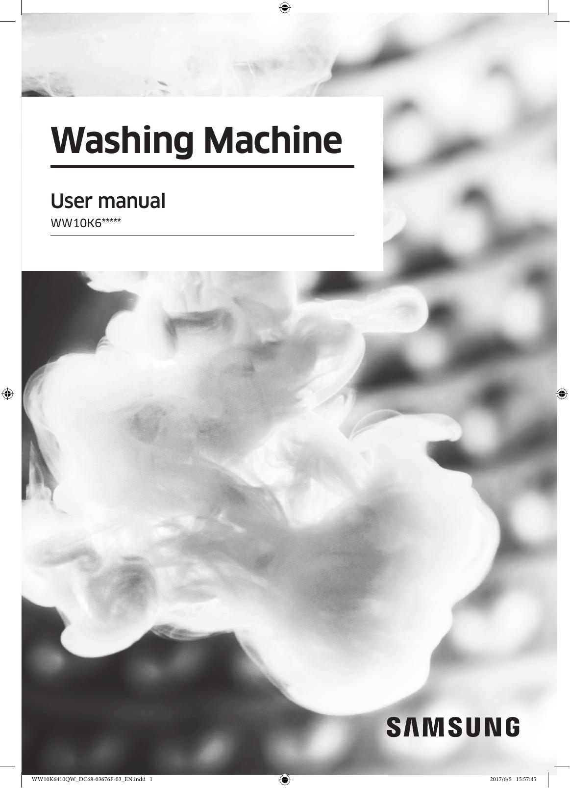 Samsung Ww10k6410qw Se User S Manual Manualzz