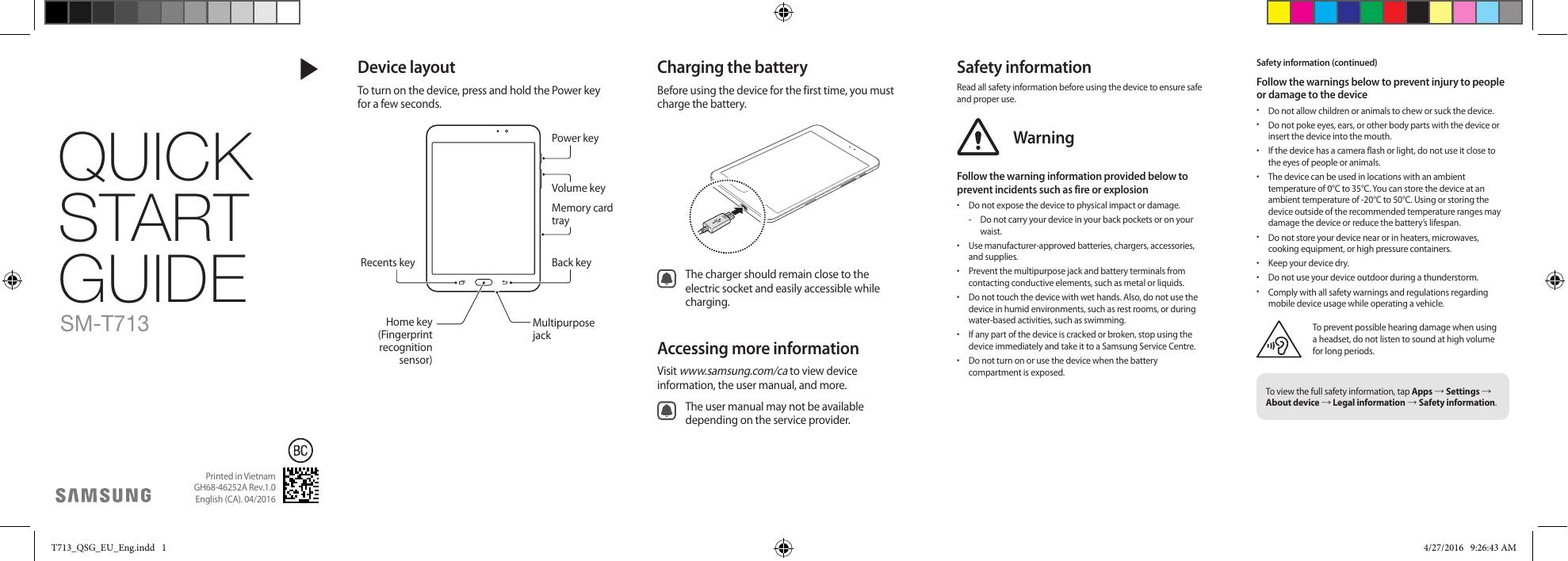 Samsung Galaxy Tab S2 (8 0) Quick Start Guide | manualzz com