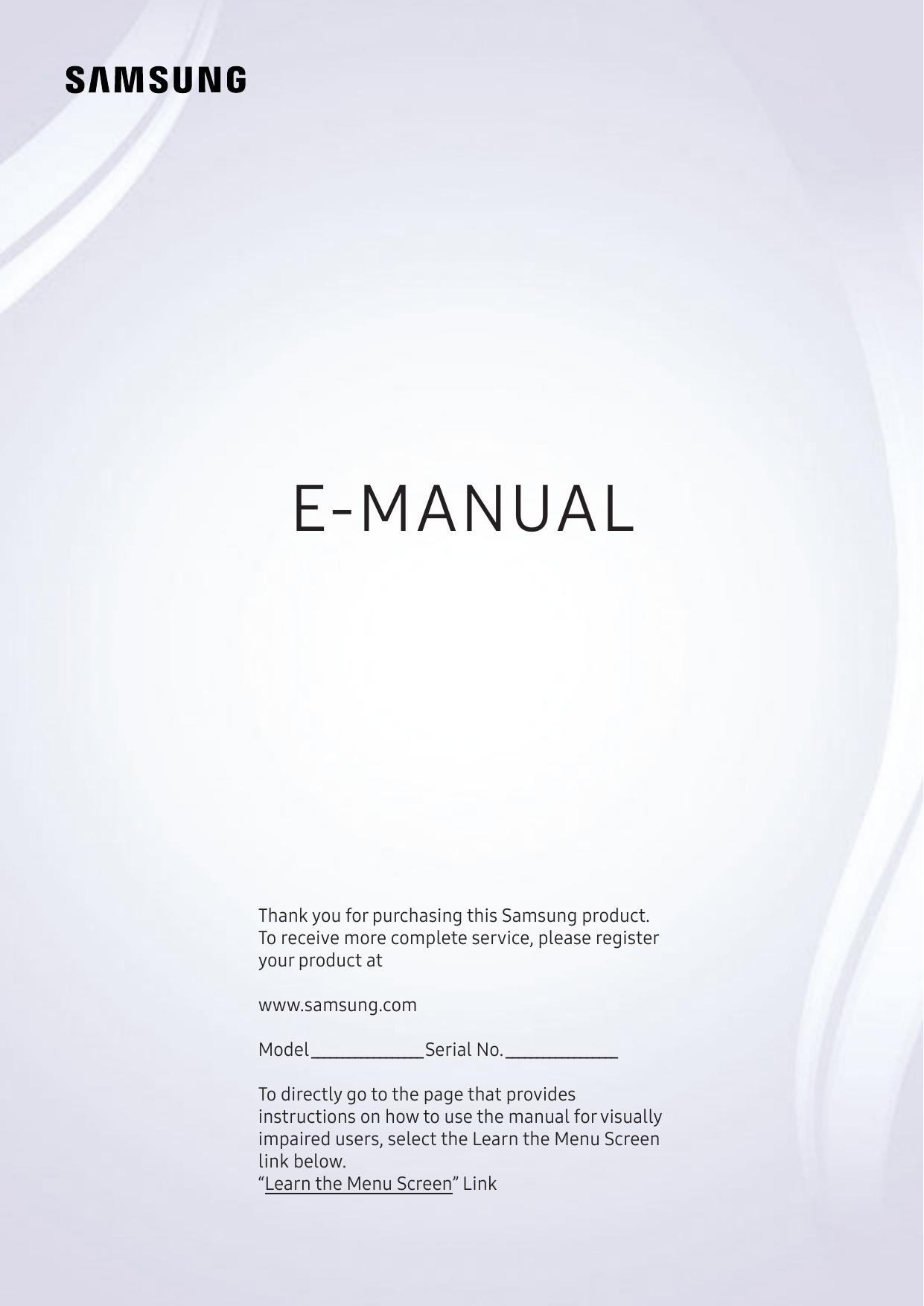samsung uhd 4k curved smart tv nu7300 series 7 user manual