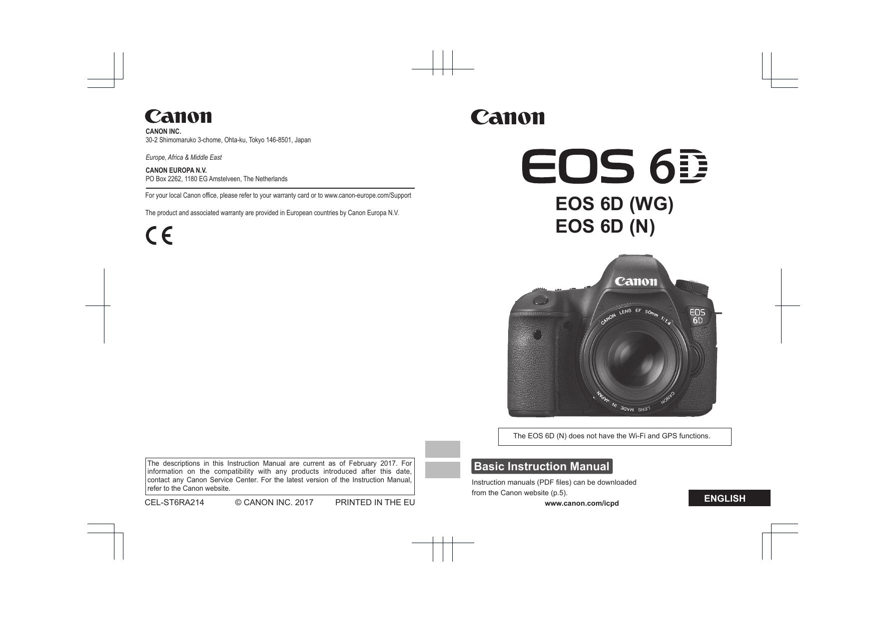Canon EOS 20D Instruction manual   Manualzz
