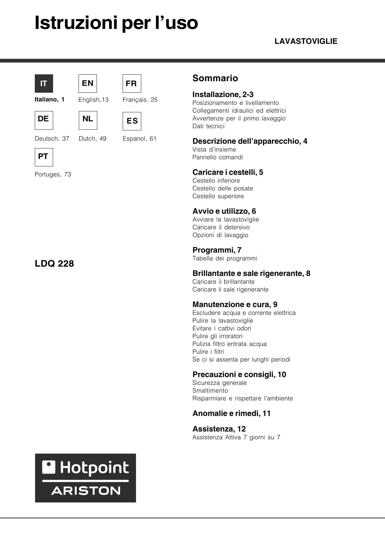 A Quelle Temperature Laver Le Lin indesit ldq 228 ice/ha instruction for use | manualzz