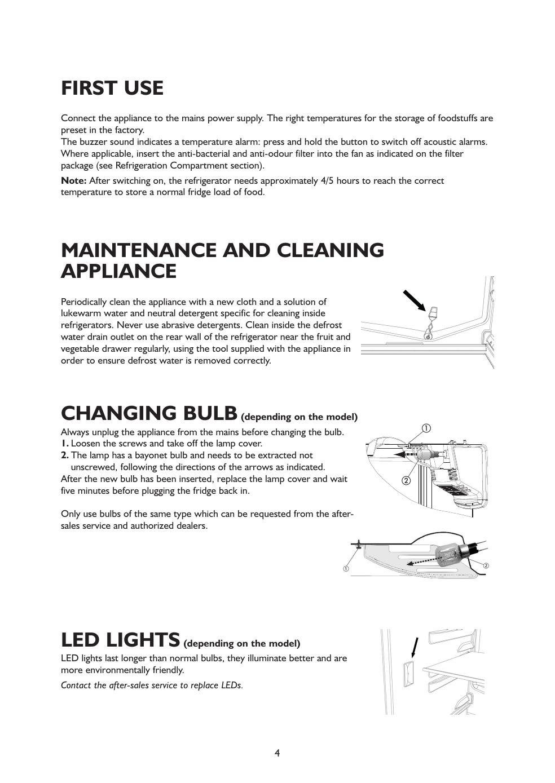 Whirlpool ART 862/A+ Instruction for Use | manualzz com