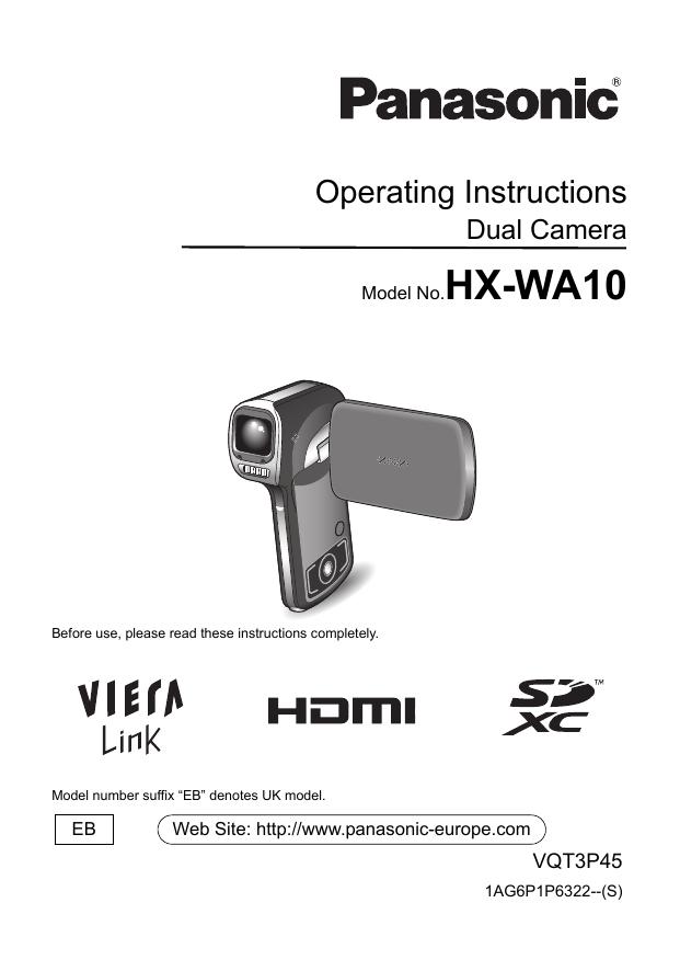 HX-A500E Panasonic Handlebar Supporto per Videocamera Compatibile HX-A100E