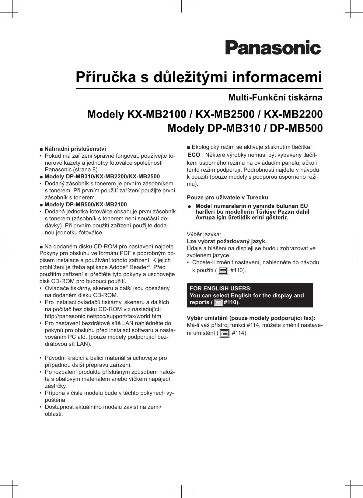 PANASONIC KX-MC6020HX MULTI-FUNCTION STATION TREIBER HERUNTERLADEN