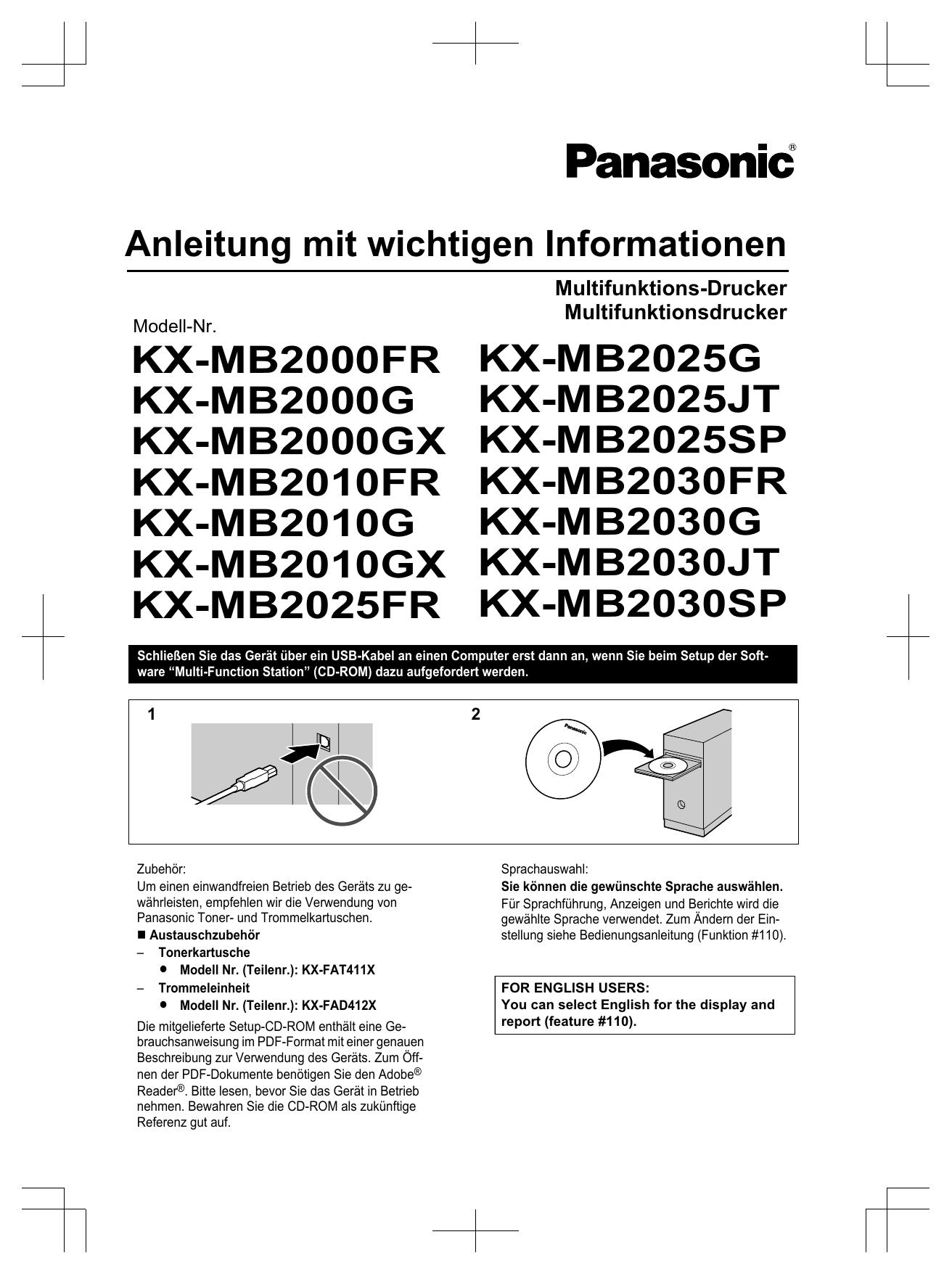 PANASONIC KX-MC6020SL MULTI-FUNCTION STATION DEVICE MONITOR DRIVERS PC