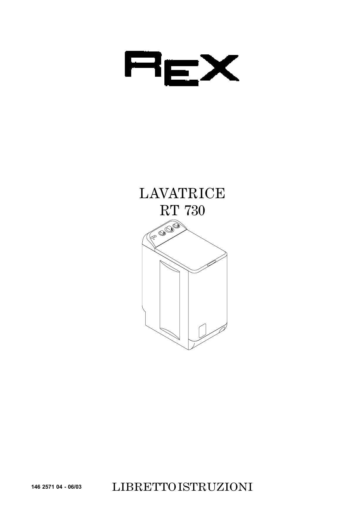 LAVATRICE 730 SCARICA
